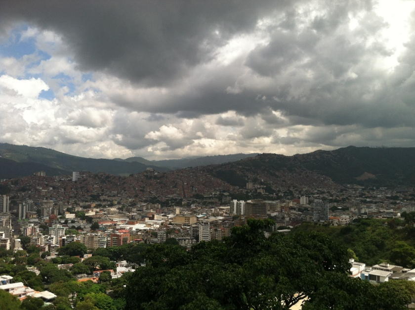 Caracas from Hornos del Cal Metrocable Station